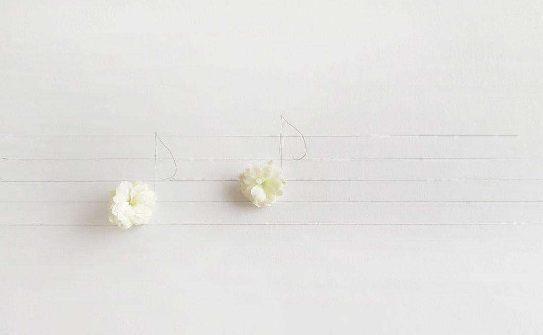 flower musical notes