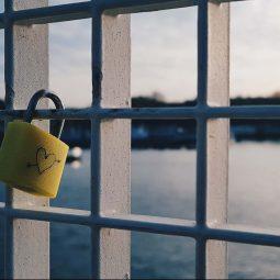 lock bridge in amsterdam